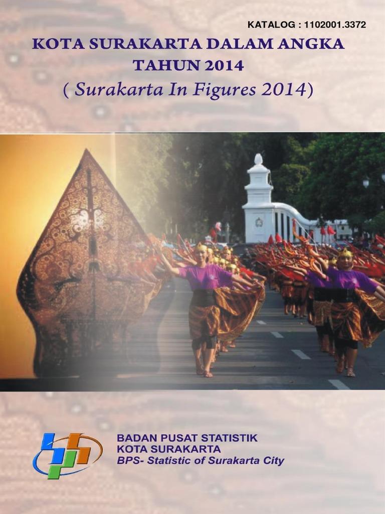 Surakarta Dalam Angka 2014 790fc0faf9