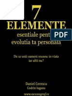 7 Elemente Esentiale