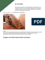 Weshalb eine Treppe aus Polen