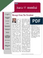 Mumbai Chapter E-journal 2014-15 Issue - 3