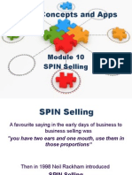 2011 03 31 SPIN Selling Powerpoint