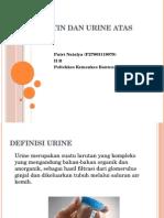 Urine Rutin Dan Urine Atas Indikasi