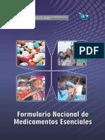 Formulario Nacional de Medicamentos Esenciales Perú