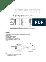 Electrical Machine Tutorial 1