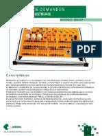 Ee0187 Kit Didatico de Comandos Eletricos Industriais