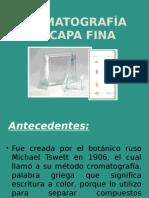 5 - Cromatografía en Capa Fina