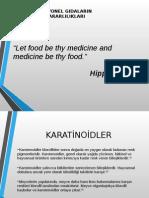 Fonksiyonel Gıdaların Faydaları