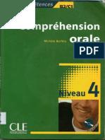 Compréhension Orale Niveau 4 (B2-C1) - CLE International