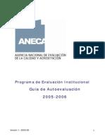 1 Guía Autoevaluación y Modelo 2005-2006