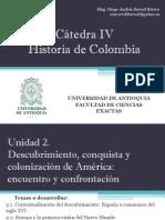 Unidad 2 Descubrimiento, Conquista y Colonización de América (Avances) - Cátedra IV
