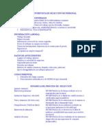 Ficha de Seleccion de personal