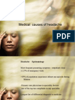 Medical Causes of Headache