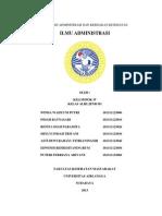 AKK Kelompok 4 (Ilmu Administrasi)