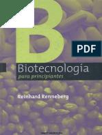 Biología - Biotecnología Para Principiantes - 302 Pag