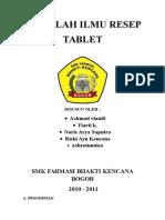 Data Makalah Tablet