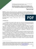 Artigo Para Estudo Biblioteconomia