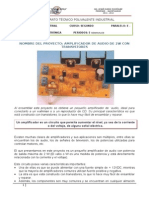 Proyecto Amplificadordeaudiode2wcontransistores 120918100955 Phpapp01 (1)