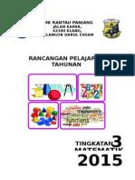 2015 Rancangan Tahunan T3 Matematik