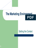 3. the Marketing Environment