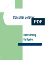 5. Consumer Behavior