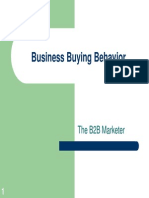 6. Business Buying Behavior