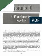 Libâneo - Didática. Planejamento escolar