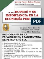 Exposición_Petroperú y Su Importancia 16 Setiembre Del 2015