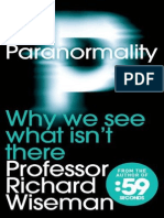 Paranormality- Why We See What Isn't There