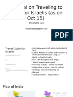 Travel Guide for Israeli Traveling to India