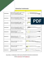 Elettrodi Bipolari per Resettore Urologia Ginecologia
