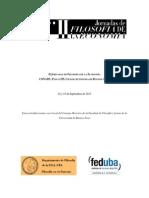 Programa II Jornadas de Filosofía de La Economía (24 y 25 de Septiembre de 2015) (1)