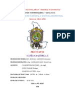 Informe de Quimica II Practica 2