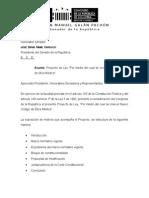 Proyecto ley Nuevo Código de Ética ultima revision