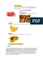 3 Frutas Ricas en Vitamina A