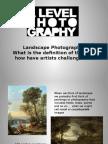 urban landscape introduction lesson 1