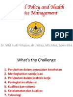 Hospital Policy and Health Service Management