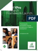 NISM YPro Framework Launch Programme
