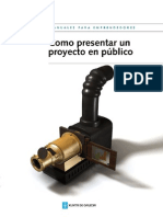 Presentar proyecto
