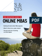 The Definitive Guide to Online MBAs
