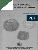 Mariana Tratado y Discurso Sobre La Moneda de Vellón (1)