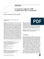 2015Yin - Compressive Behavior of Concrete Confined by CFRP
