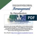 Manyafandom - The Arrangement (Full)