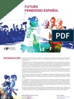 Jornada Presente y Futuro Del Fútbol Femenino Español