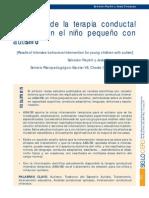 2009_Peydro_resultados Terapia Conductual - Autismo