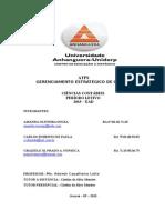 Atps - Gerenciamento Estratégico de Custos - Finalizada