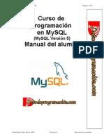 Curso de Programación en MySQL
