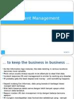 12 Incident Management