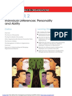 Individual Differences - Personality and Ability