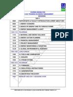 Course Agenda in Book-1&2