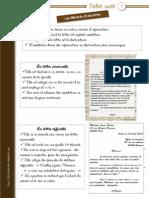 Structure de La Lettre Amicale